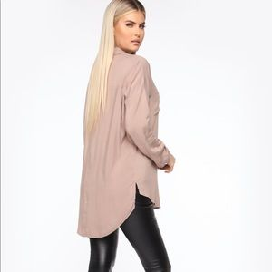 Fashion Nova Tunic Shirt